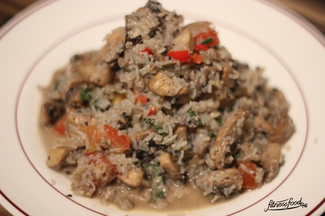 Low Carb Risotto mit nocarb Reis