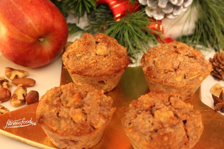 lowcarb bratapfel muffins