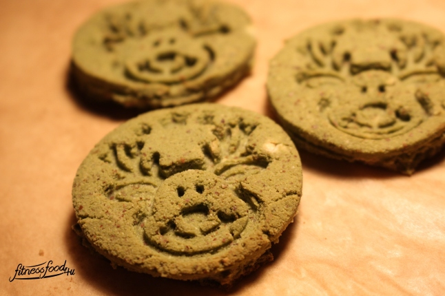 Matcha xmas-cookies